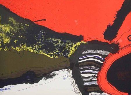 Lithographie Guinovart - Homenatge a Joan Prats I