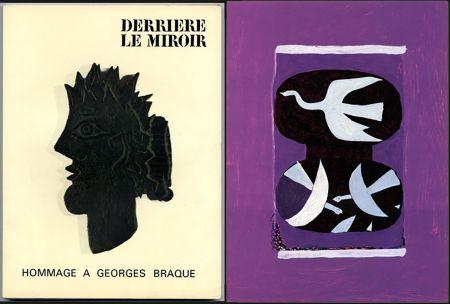 Livre Illustré Braque - HOMMAGE À GEORGES BRAQUE. Derrière le miroir N°144-145-146. Mai 1964.