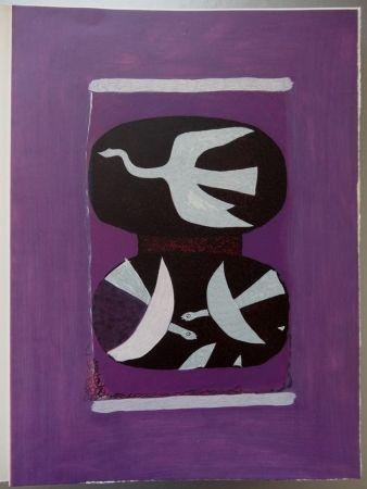 Gravure Braque - Hommage à Braque