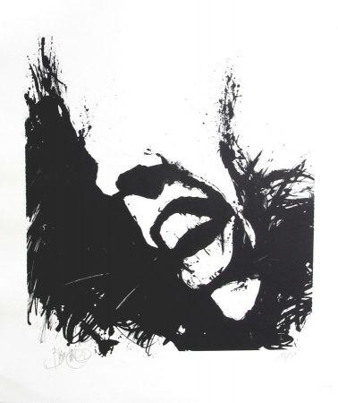 Lithographie Blanchard - Hommage à Brel