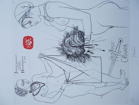 Gravure Trémois - Hommage à Cranach