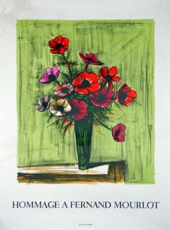 Lithographie Buffet - Hommage à Fernand Mourlot
