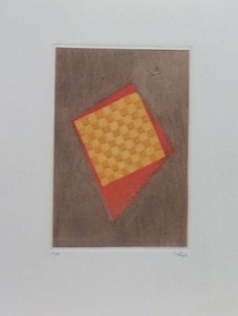 Gravure Piza - Hommage à Friedlander
