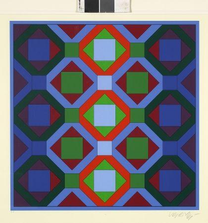 Aucune Technique Vasarely - Hommage à Jean-Sebastien Bach