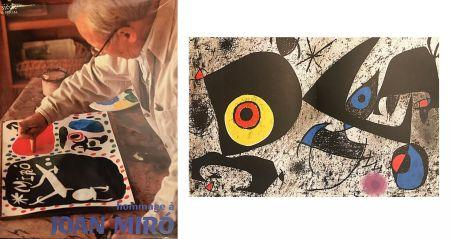 Livre Illustré Miró - Hommage à Joan Miro. Numéro spécial de la revue XXème siècle.