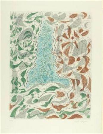 Eau-Forte Et Aquatinte Masson - Hommage à Picasso