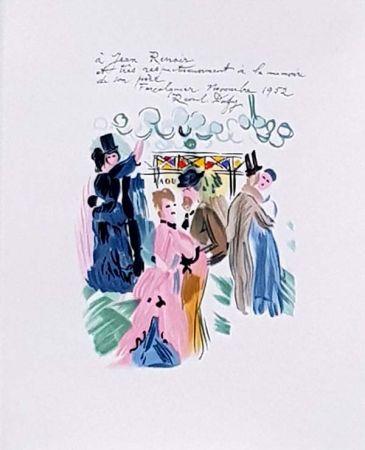 Lithographie Dufy - Hommage À Renoir