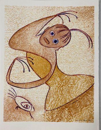 Lithographie Ernst - Hommage à San Lazzaro