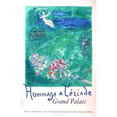 Lithographie Chagall - Hommage à Tériade