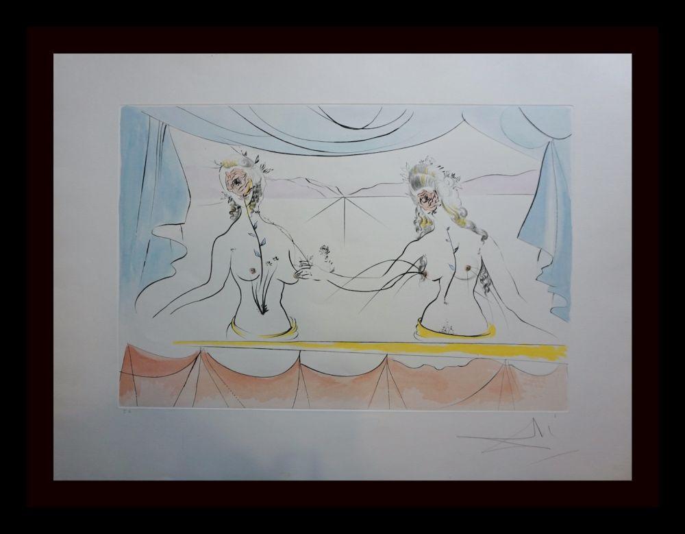 Gravure Dali - Hommage a Albrecht Durer Renaissance
