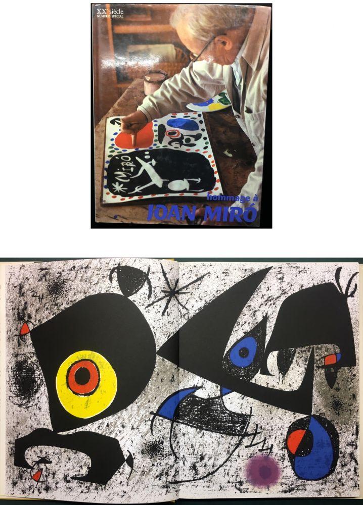 Livre Illustré Miró - HOMMAGE A JOAN MIRÓ - XXe Siècle - N° spécial 1972