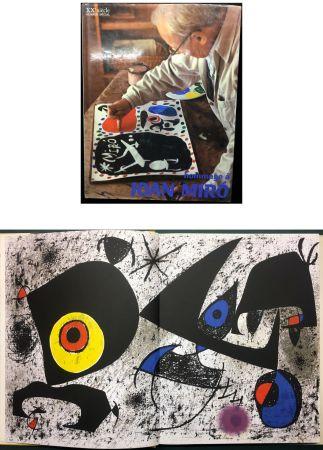 Livre Illustré Miró - HOMMAGE A JOAN MIRO - XXe Siècle - N° spécial 1972