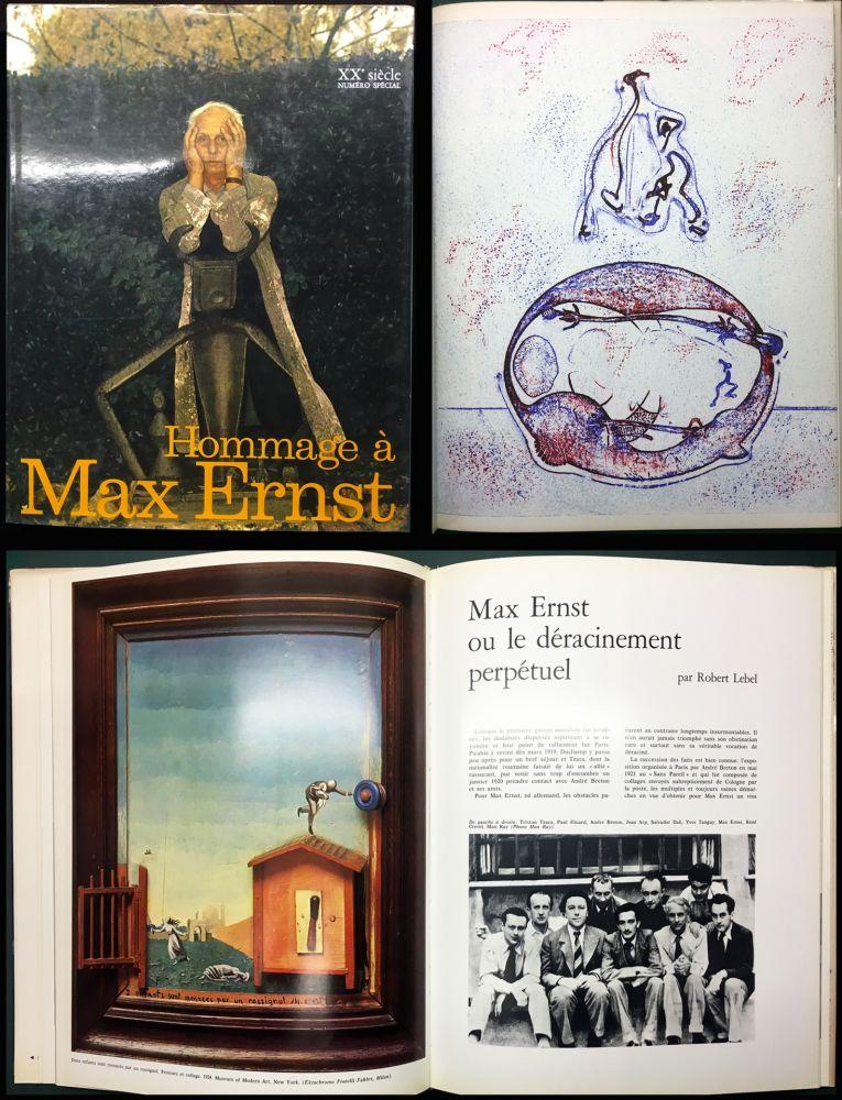 Livre Illustré Ernst - HOMMAGE A MAX ERNST - XXe Siècle - N° spécial 1971.