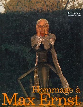 Livre Illustré Ernst - Hommage A Max Ernst (Xxème Siècle - Une Lithographie Originale)