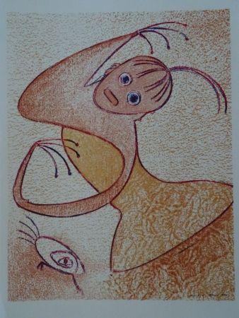 Lithographie Ernst - Hommage a San Lazarro
