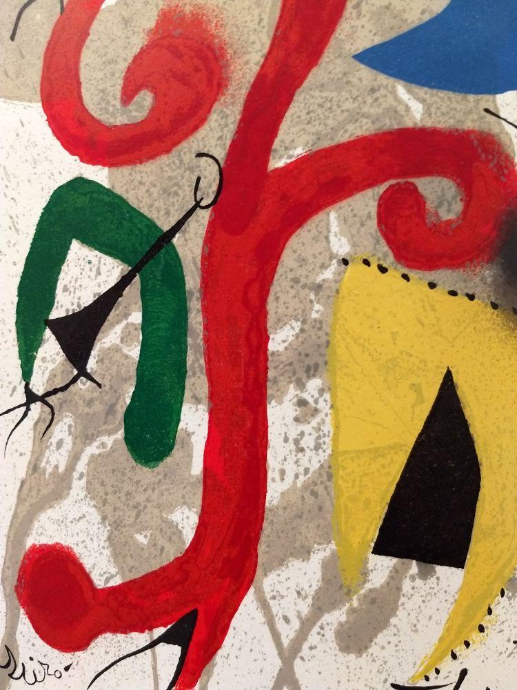 Livre Illustré Miró - Hommage a Tiriade