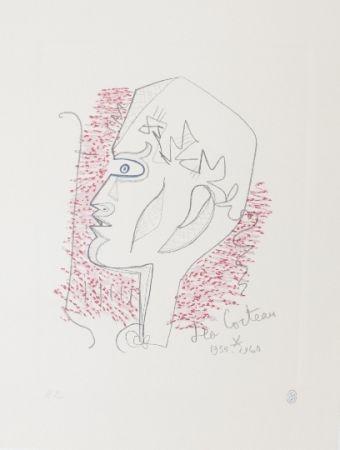 Lithographie Cocteau - Hommage Jean Cocteau 17