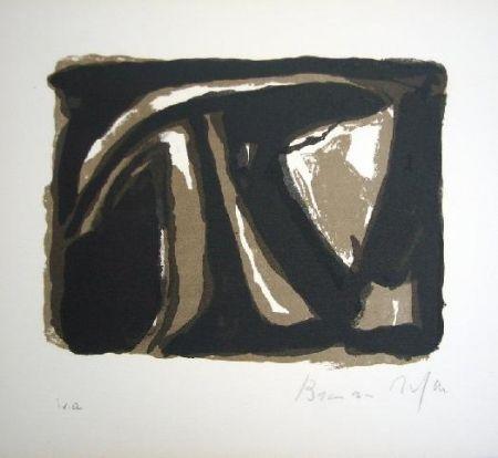 Lithographie Van Velde - Hommage Paul Celan