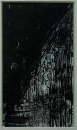 Lithographie Vieira Da Silva - Hommage Pessoa