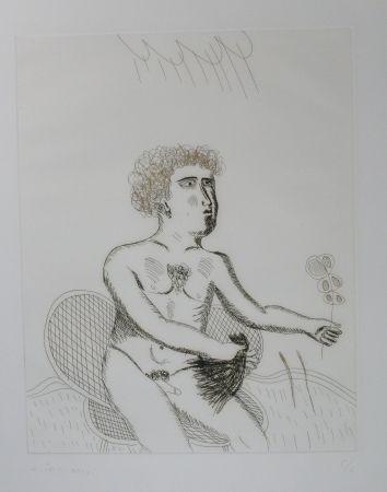 Pointe-Sèche Fassianos - Homme nu