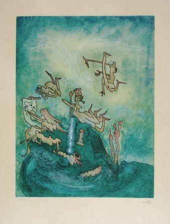 Eau-Forte Et Aquatinte Matta - HOM'MERE-Chaosmos