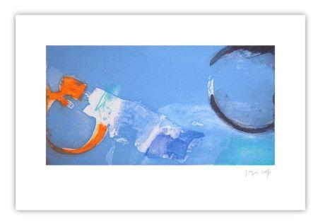 Gravure Capa - Horizontal bleu