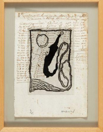 Aquatinte Alechinsky - Hors calendrier