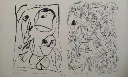 Lithographie Alechinsky - Hors Texte V - Vi