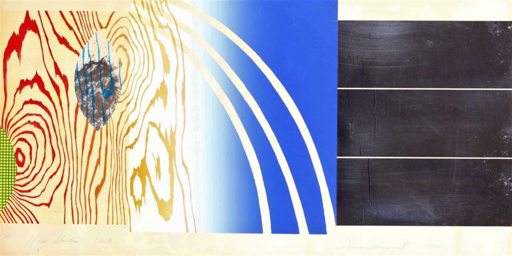 Lithographie Rosenquist - Horse Blinders (North)