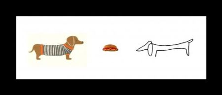 Lithographie Leirner - Hot Dog