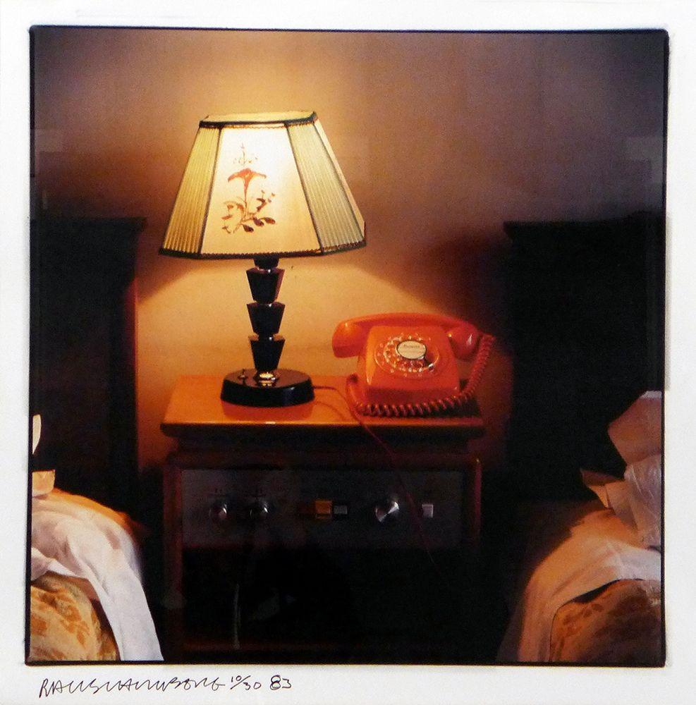 Photographie Rauschenberg - Hotel Room