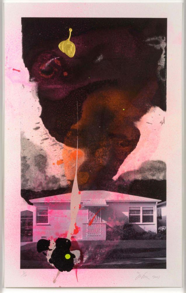 Lithographie Goode - House Tornado (11520)