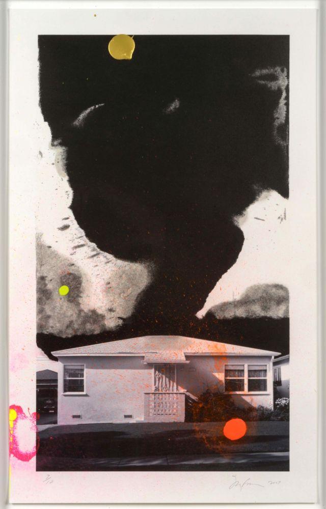 Lithographie Goode - House Tornado (11532)