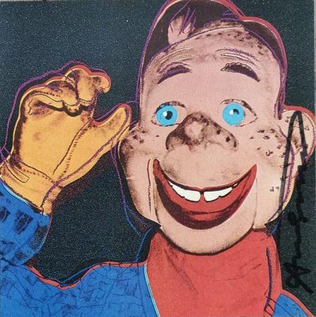 Sérigraphie Warhol - Howdy Doody