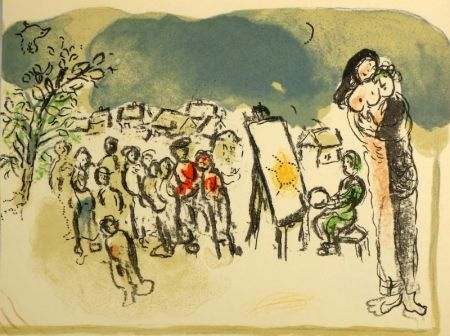 Lithographie Chagall - (Humanisme Actif)