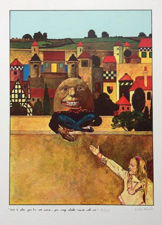 Sérigraphie Blake - Humpty Dumpty...