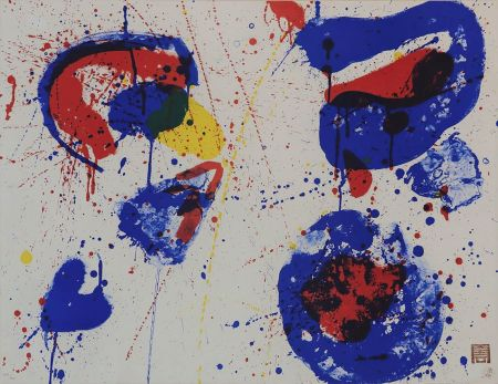 Lithographie Francis - Hurrah for the Red, White and Blue (SF-17)