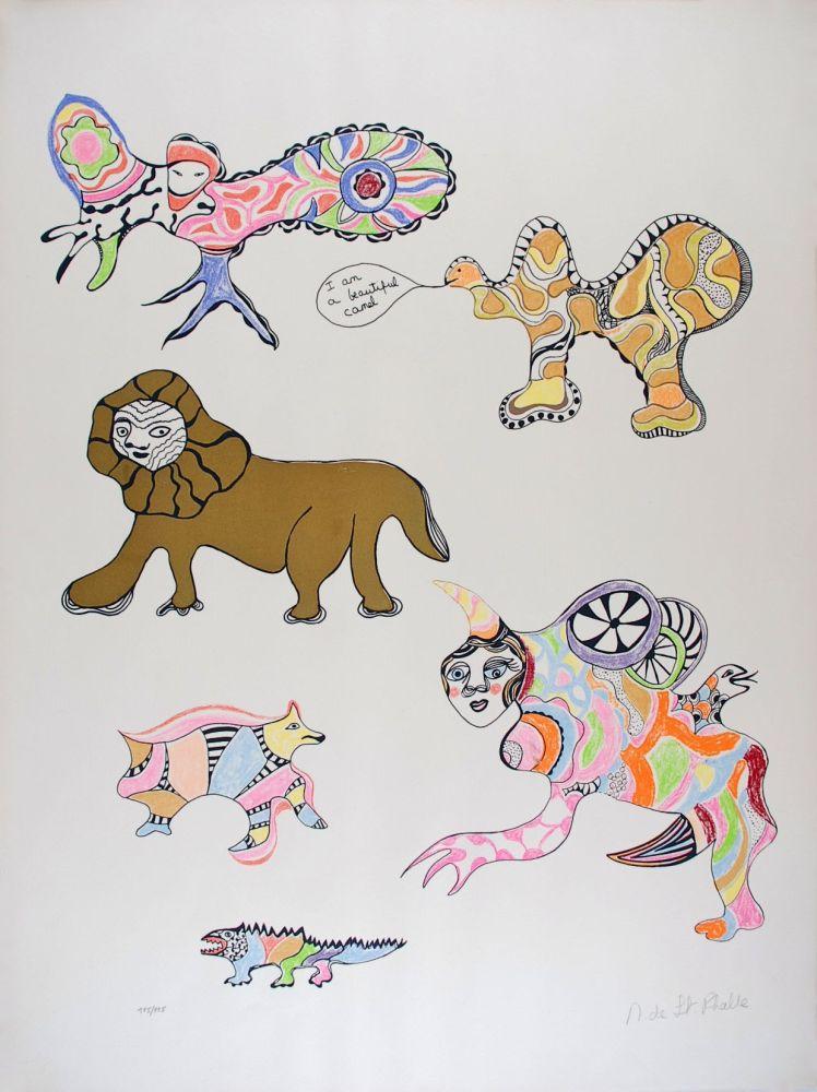 Sérigraphie De Saint Phalle - I am a beautiful camel (Nana Power)