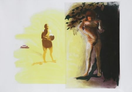 Eau-Forte Et Aquatinte Fischl - I from Beach Scenes Series