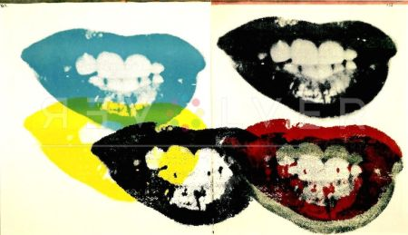 Sérigraphie Warhol - I Love Your Kiss Forever (FS II.5)