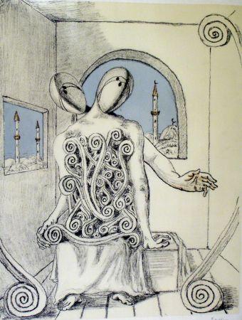 Lithographie De Chirico - I miei amici orientali
