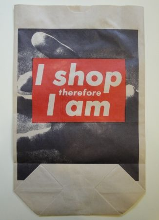 Aucune Technique Kruger - I shop therefore I am
