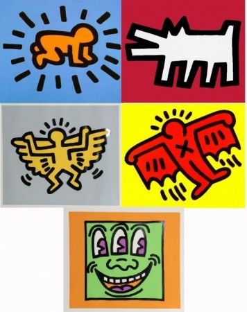 Sérigraphie Haring - Icons
