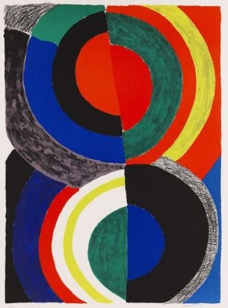 Lithographie Delaunay - Idole