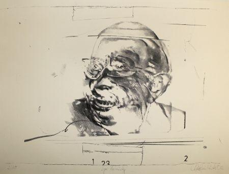 Lithographie Rickert - Igor Strawinsky