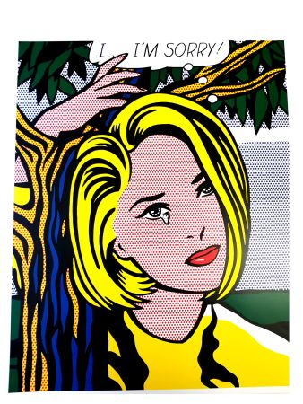 Lithographie Lichtenstein - I...I'm sorry
