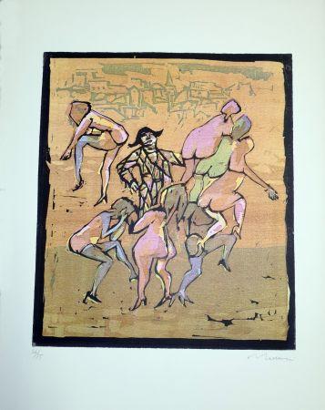 Linogravure Maccari - Il balletto