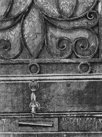 Eau-Forte Cacciarini - Il cancello