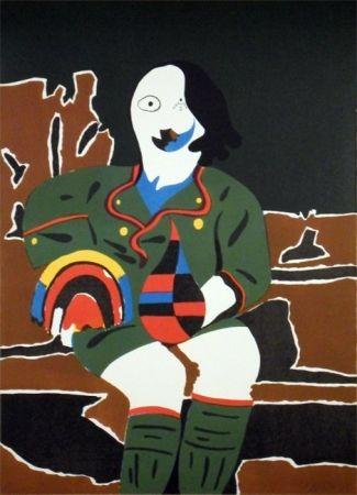 Lithographie Arroyo - Il Pittore di Monaco