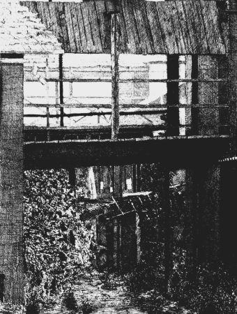 Eau-Forte Cacciarini - Il ponte di legno
